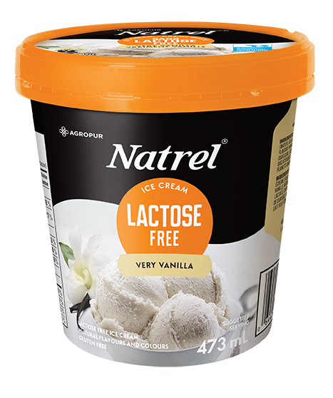 Very Vanilla Lactose Free Ice Cream | Natrel