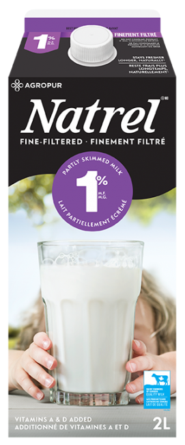 Fine-Filtered 1% Milk | Natrel