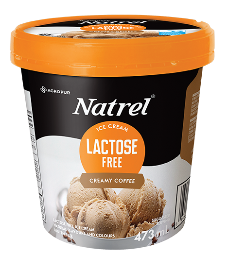 Natrel Lactose Free Creamy Coffee Ice Cream