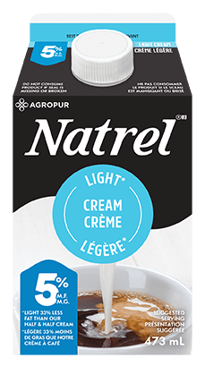 Light cream 5% 473ml