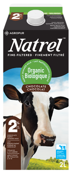 Organic Fine-Filtered chocolate milk