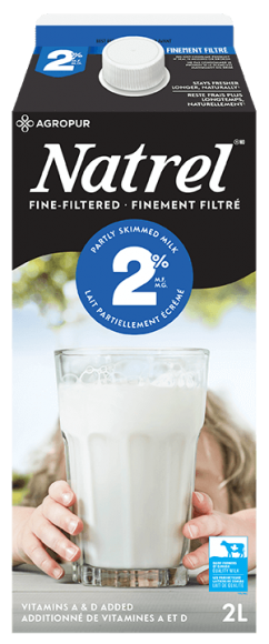 Natrel Lait Finement-filtré 2%