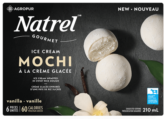 Vanilla Mochi Ice Cream