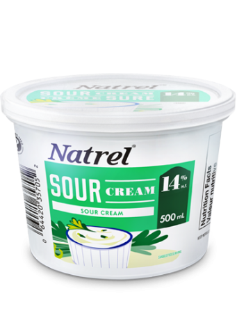 Natrel sour cream 14% 500g