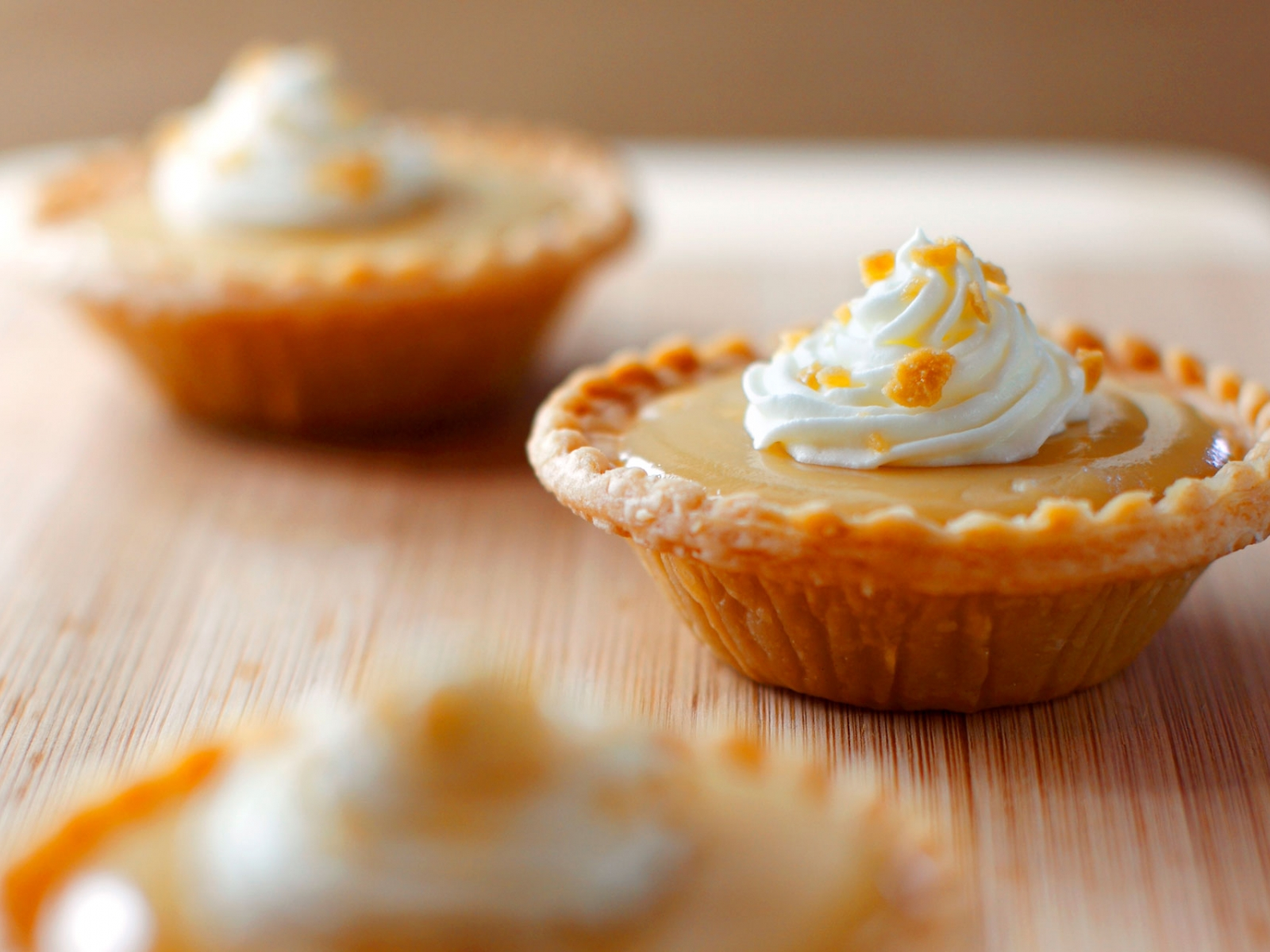 Mini Maple Sugar Pies