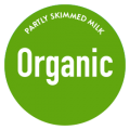 Partly skimmed milk organic