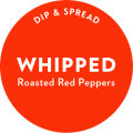 Roasted Red Peppers Whipped Dip and Spread