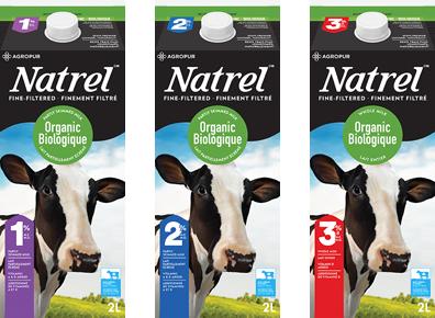 Organic milks | Natrel